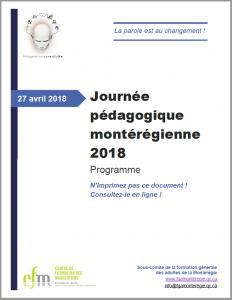 Prograamme JPM FGA 2018